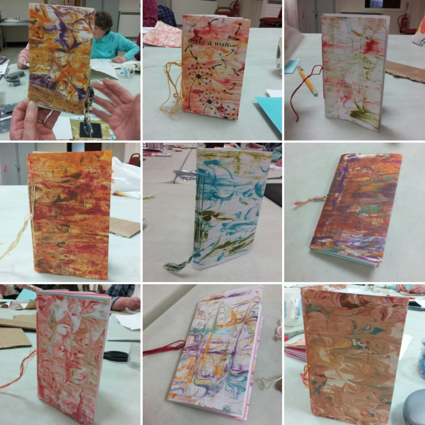 Hand bound books with Colour Your Life
