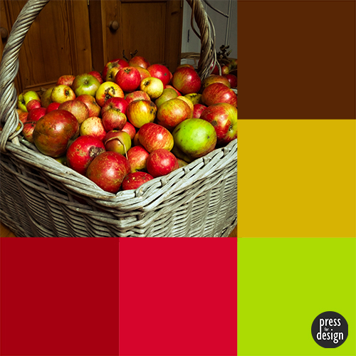 Tuesday Colour Inspiration – Apple Harvest Cake