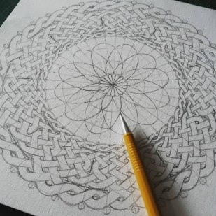 Man in the Moon mandala