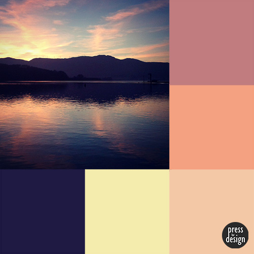 Tuesday Colour Inspiration – holiday memories