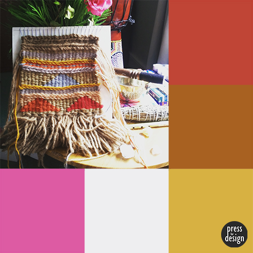 Tuesday Colour Inspiration – Tapestry Weaving