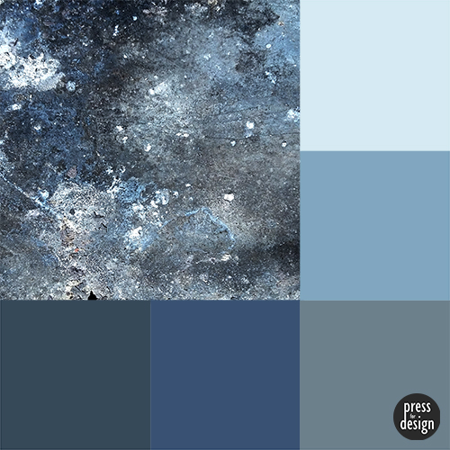 Tuesday Colour Inspiration: Weathered Tin