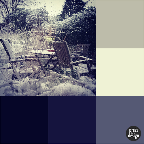 Winter is Coming colour inspiration swatch