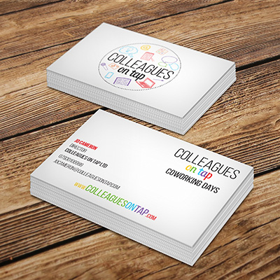 Colleagues on Tap business cards