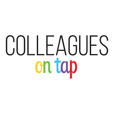 Colleagues on Tap design work