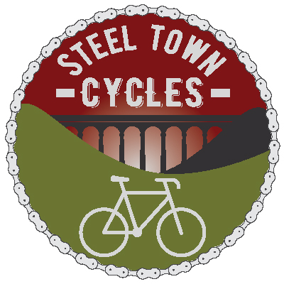 Steel Town Cycles logo design
