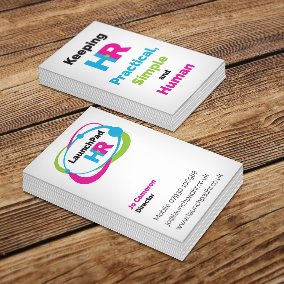 LaunchPad HR business cards