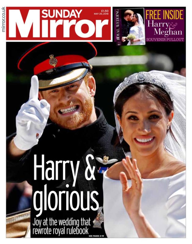 The i puts out special Sunday edition to cover Royal
