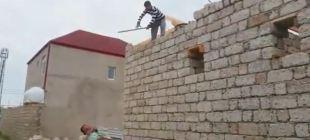 (Video-Haber) Azerilerin inşaat taktiği!