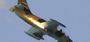 Suriye Ordusu'ndan IŞİD'in ele geçirdiği köylere hava saldırısı!
