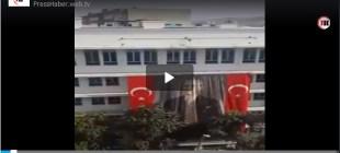 Sağlık Bakanlığı çatısında güvencesiz çalışan işçiler görüntülendi!