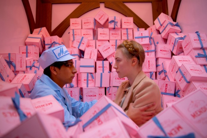 6. The Grand Budapest Hotel - Wes Anderson, USA-Germany