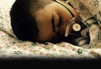 İsrail polisi Filistinli küçük çocuğu yüzünden vurdu!