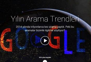 Google'in 2014 trendleri, ilk 10'lar