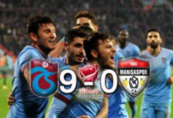 Avni Aker'de gol yağmuru 9-0