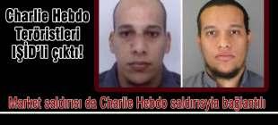 Charlie Hebdo saldırganları IŞİD'li çıktı!