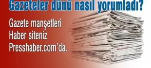 Gazete Manşetleri 2 Şubat 2015