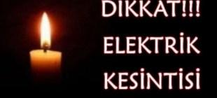 İstanbul'da pazartesi elektrikler kesilecek!