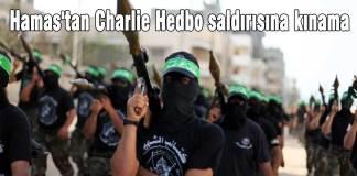 Hamas'tan Charlie Hedbo saldırısına kınama