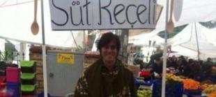 Dizi koşullarını protesto eden ünlü oyuncu pazarda reçel satıyor!
