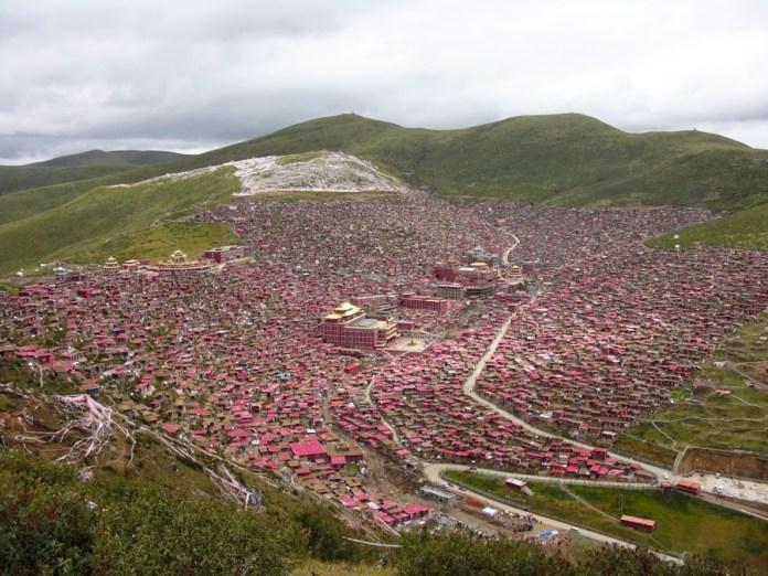 Larung Vadisi - Tibet (1)
