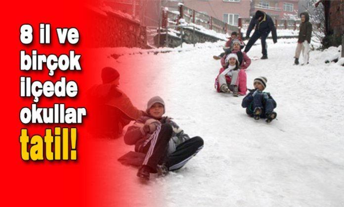Yurt genelinde soğuklar devam ederken birçok ilde yoğun kar yağışı etkisini sürdürüyor. Kar yağışıyla beraber bazı illerde okullar tatil edildi. İşte 12 Şubat Perşembe günü eğitime kar sebebiyle ara verilen iller.