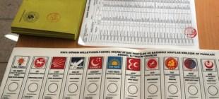 7 Haziran seçimlerinde partilerin oy pusulasındaki yeri belli oldu