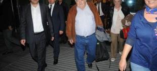 Dünyanın en güzel lideri Mujica bütün mütevaziliğiyle İstanbul'da