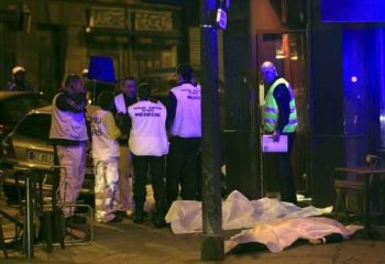 Paris'teki ölümlere sevinç Tweetleri
