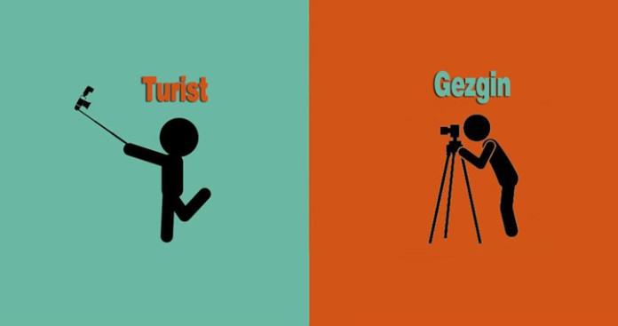Turist Gezgin farkı