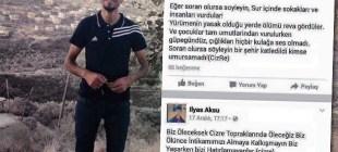 Cizre'de öldürülen İlyas Aksu: Bir şehir katledildi, kimse umursamadı