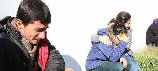 Öldürülen inşaat işçisinin 8 çocuğu morg kapısında