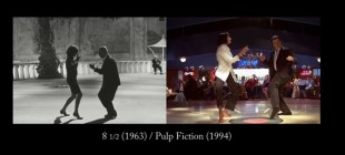 Tarantino'nun filmlerindeki birçok sahnesi eski filmlerden alınmış
