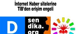 Sendika.org, Demokrat Haber ve Yüksekova Haber'e erişim engeli
