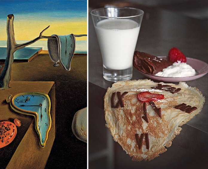 """""""The Persistence of Memory"""" by Salvador Dalí"""