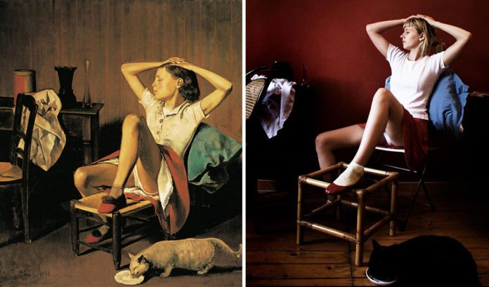 """""""Therese Revant"""" by Balthus"""