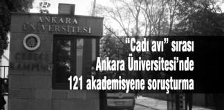 Ankara Üniversitesi, Akademisyenler, Soruşturma, Cadı Avı,