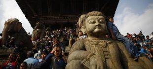 Nepal'de Biska Festivali kutlanıyor