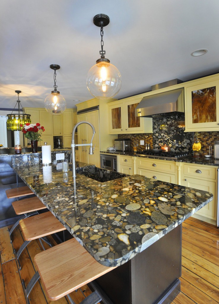 Kitchen Island Granite Countertop