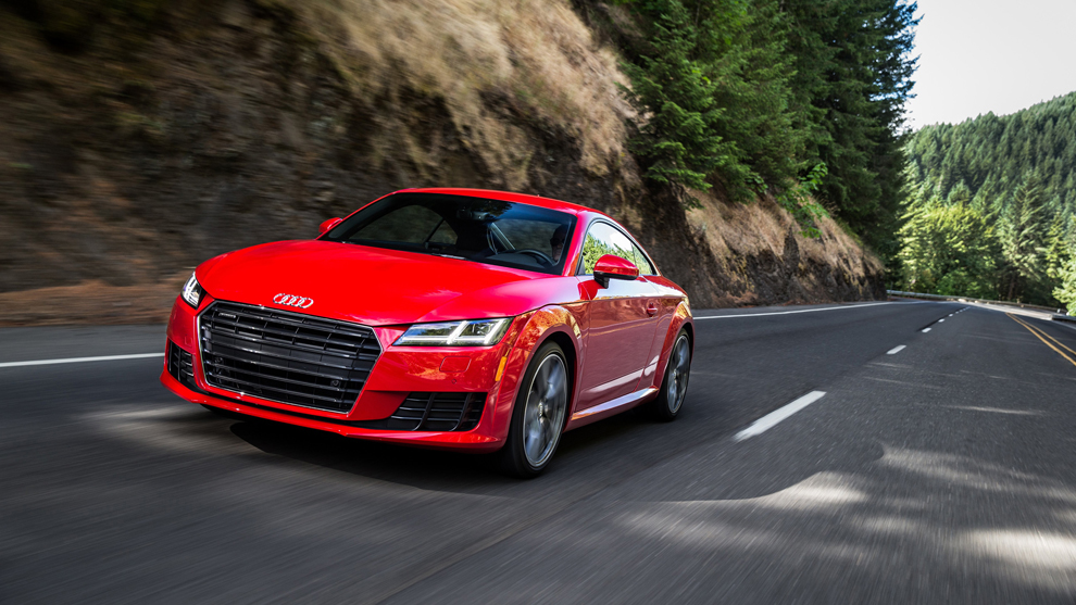 The 2016 Audi TT coupe is an evolutionary new edition of the brand's sport coupe. (Audi)