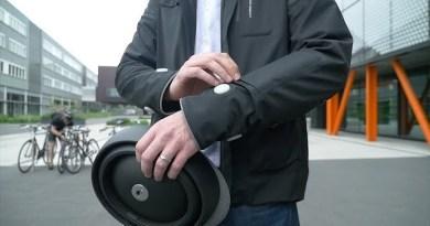 «Розумна» куртка для велосипедистів