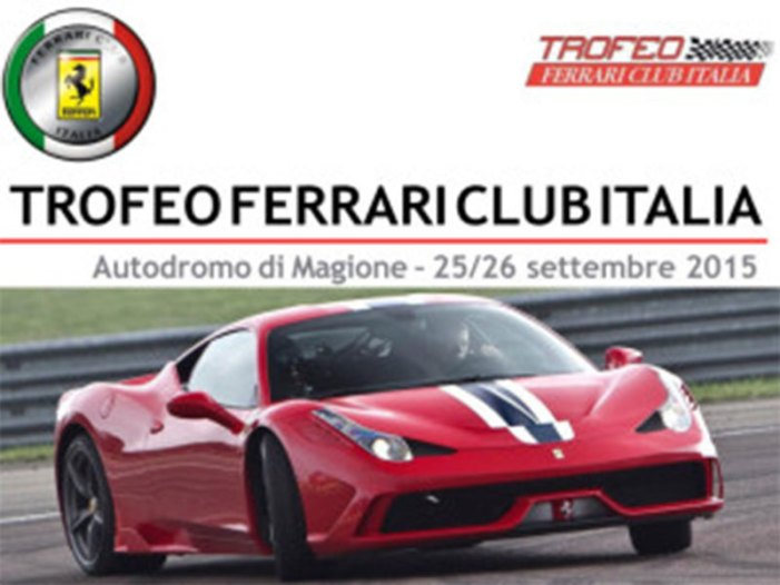 Tornano le Ferrari all'Autodromo dell'Umbria