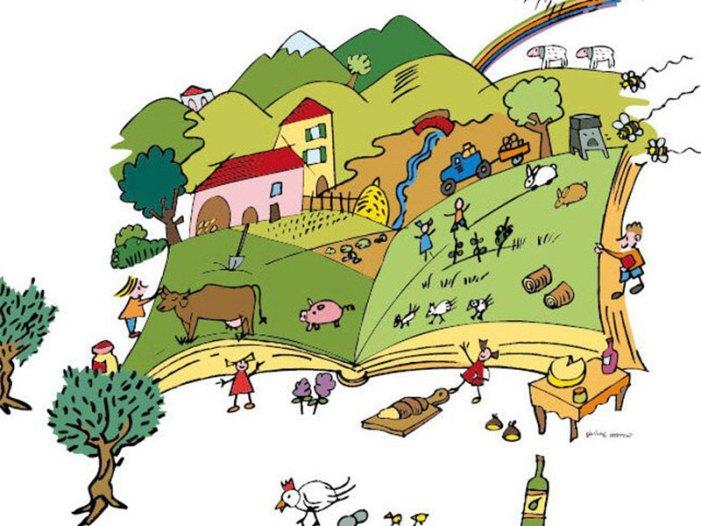 In campagna i bambini imparano a conoscere il cibo