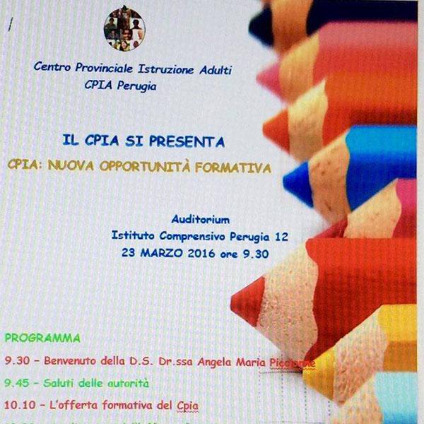 CPIA: accoglienza e nuova opportunità formativa