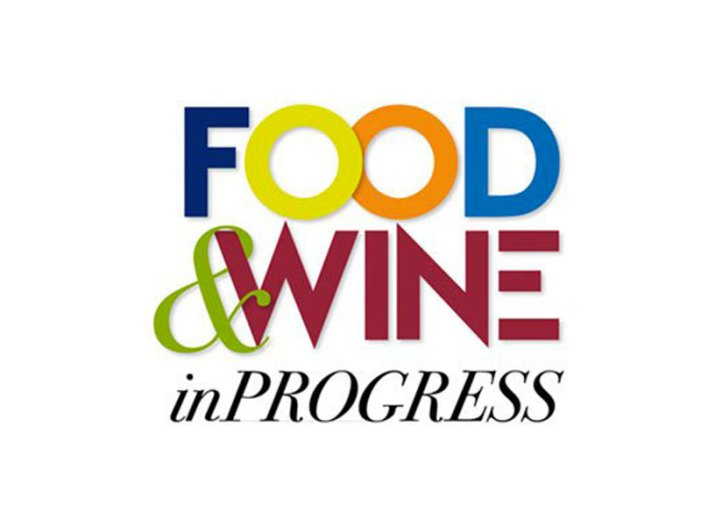 Food and Wine in Progress