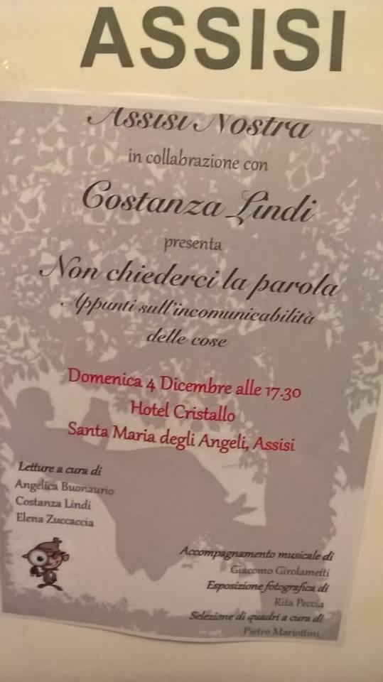 Non solo Francesco…poesia e arte ad Assisi