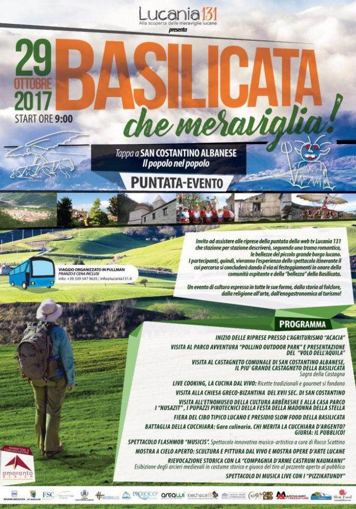 """Arriva """"Basilicata, che meraviglia!"""" per promuovere l'enogastronomia della regione"""