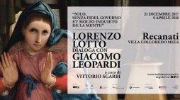 Sgarbi inaugura la mostra di Recanati: Lorenzo Lotto dialoga con Giacomo Leopardi