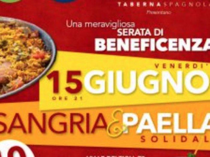 """A Casalnuovo """"Paella & Sangria Solidale"""", serata di beneficenza per gli autistici"""