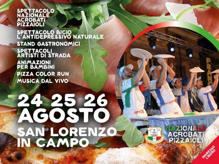 "A San Lorenzo in Campo torna ""Pizza in Piazza"""
